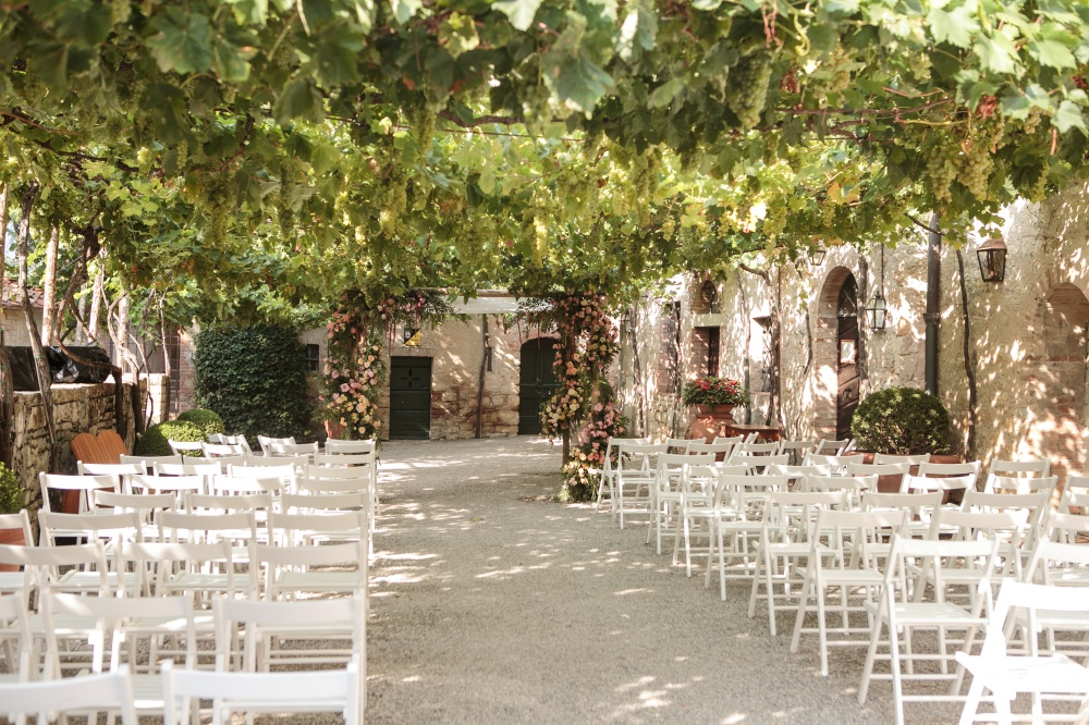 best ceremony places to get married in tuscany