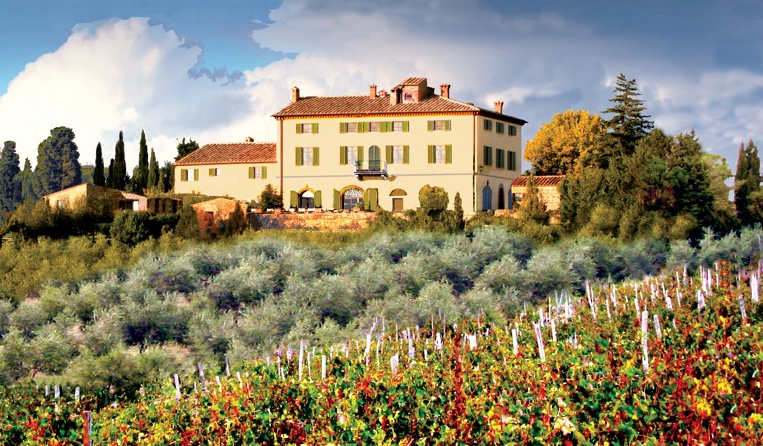 best selection of country villa for intimate weddings in tuscany