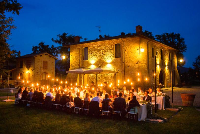 Villa Tuscany Wedding Hamlet 136