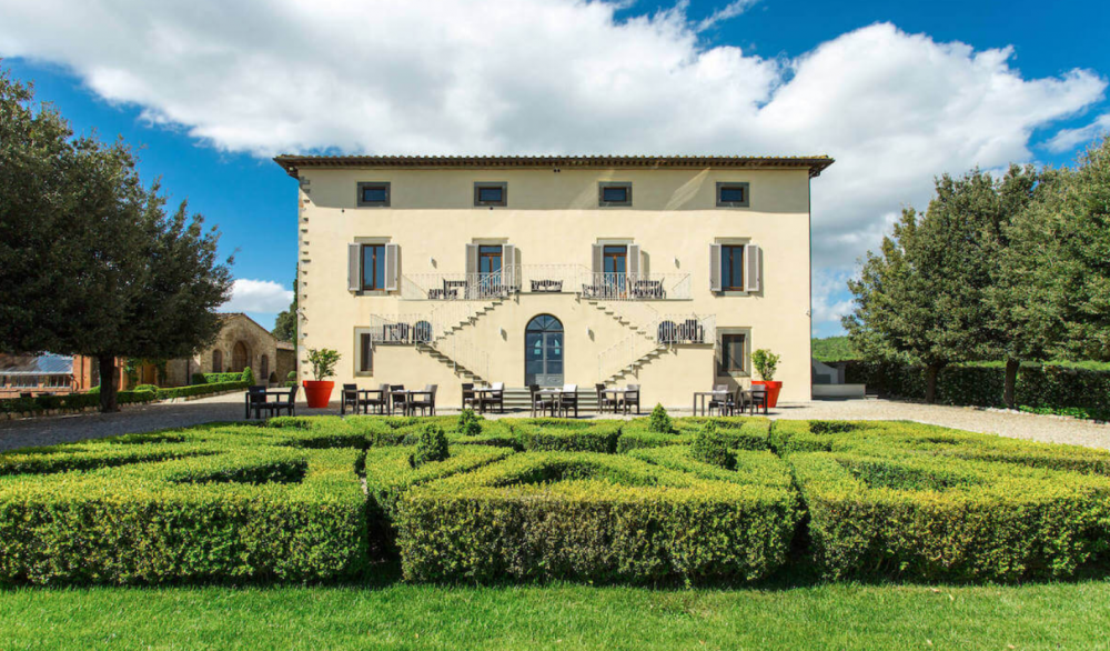 italian garden for weddings in Tuscany