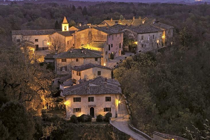 borgo for wedding in tuscany
