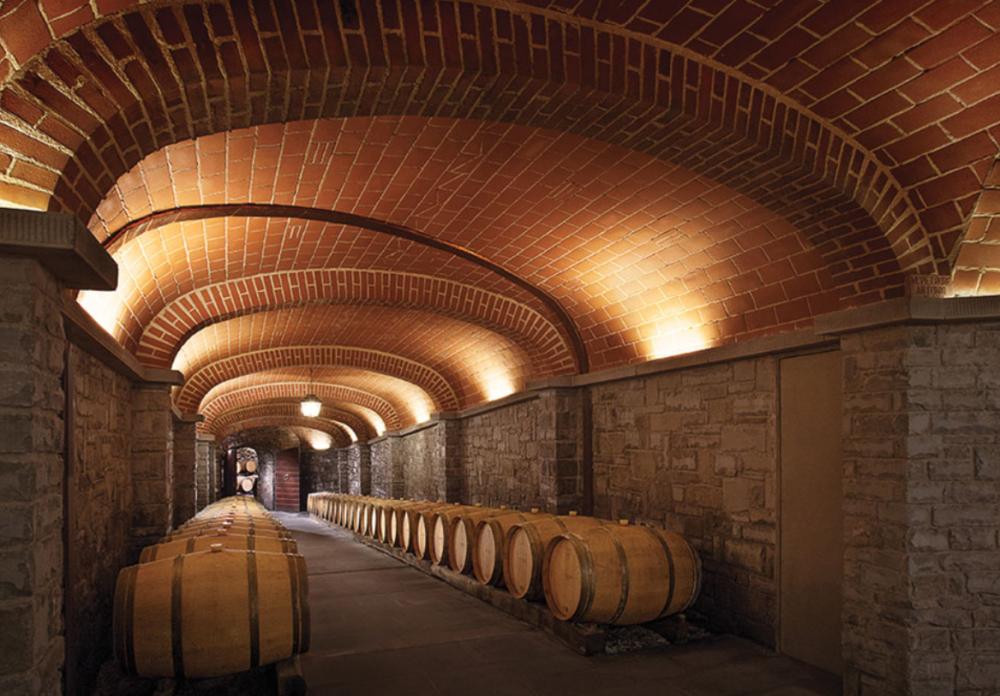 cellar in a charming wedding villa in tuscany