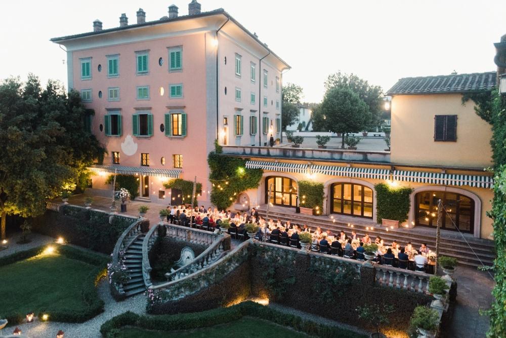 villa for wedding in tuscany