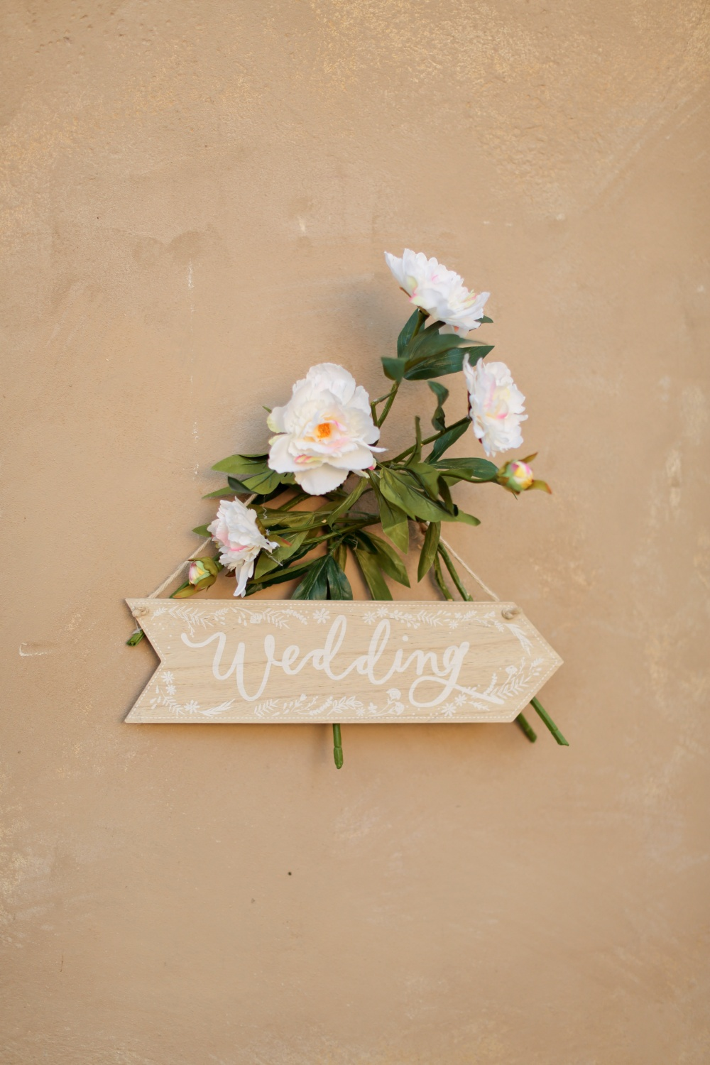 country chic real wedding details in tuscany