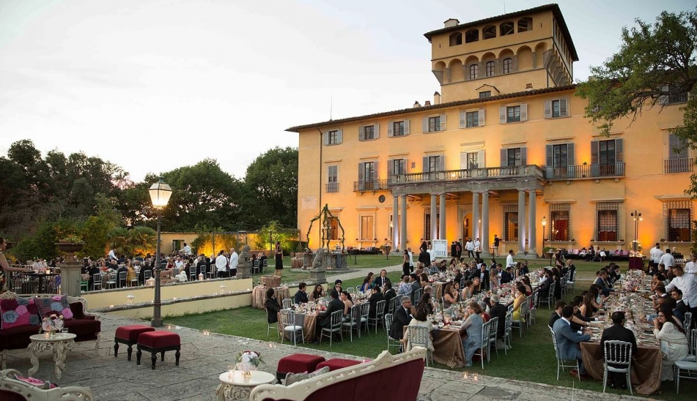 destination wedding villa for marriage in florence