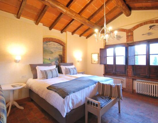 dream room in a wedding hamlet in tuscany italy