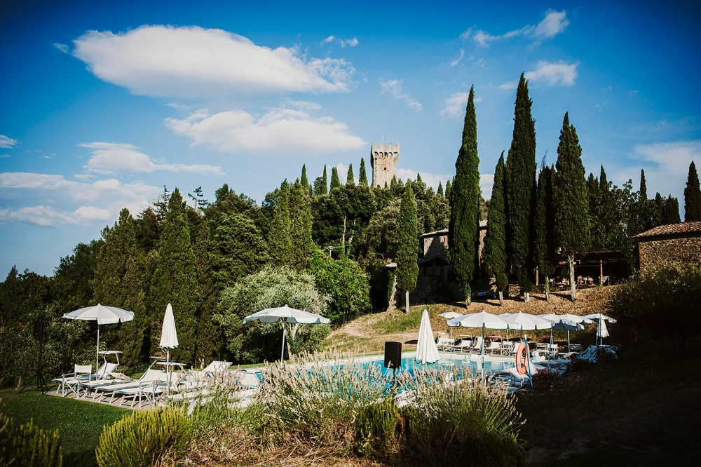 farmhouse for weddings with pool in tuscany