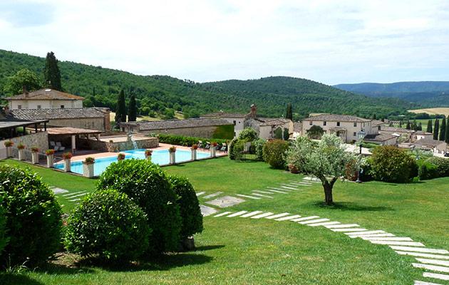 gardens in a hamlet for wedding