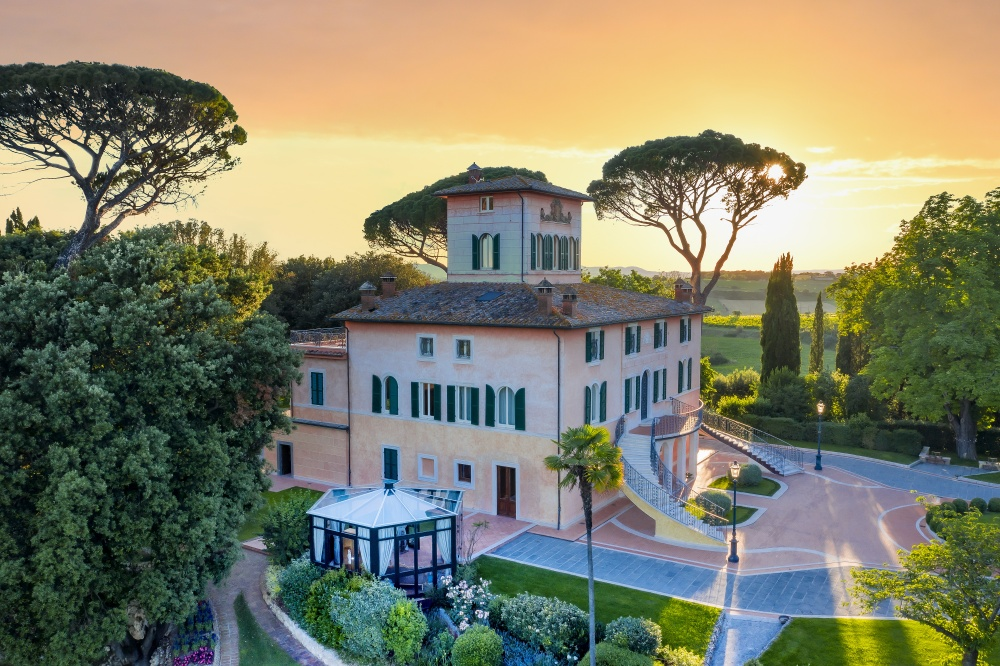 luxury hotels villa for weddings in tuscany