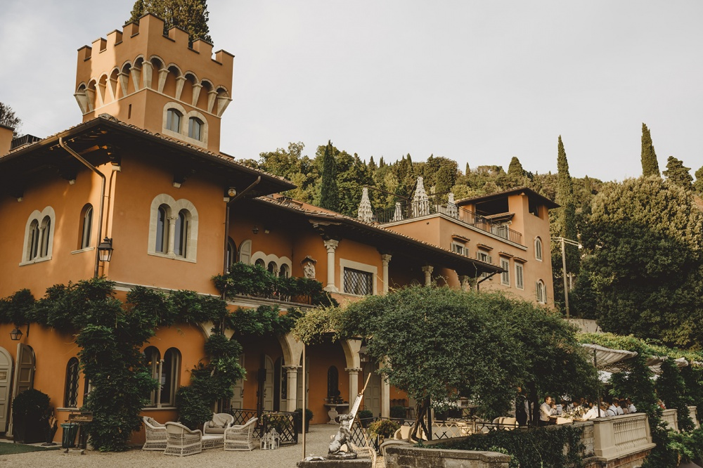 private villa for weddings in florence