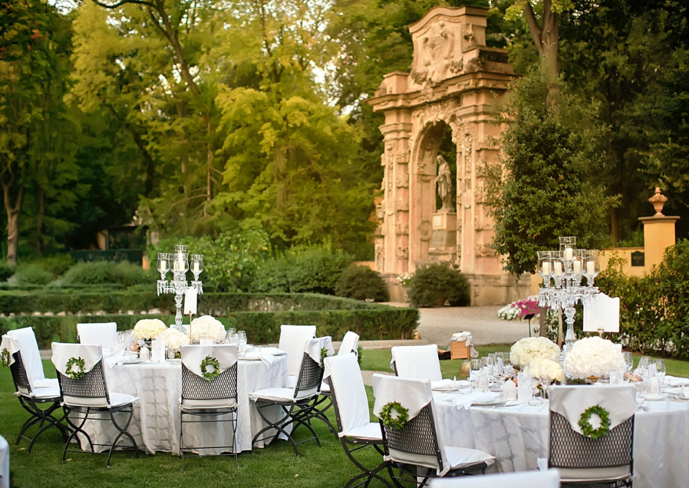 luxury wedding villa for receptions in florence
