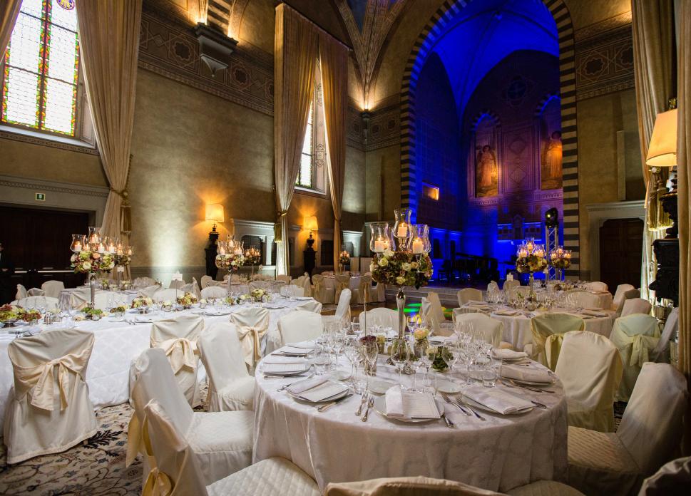 luxury wedding villa for dinner in florence