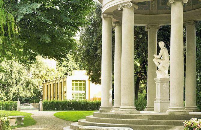 luxury wedding villa garden in florence