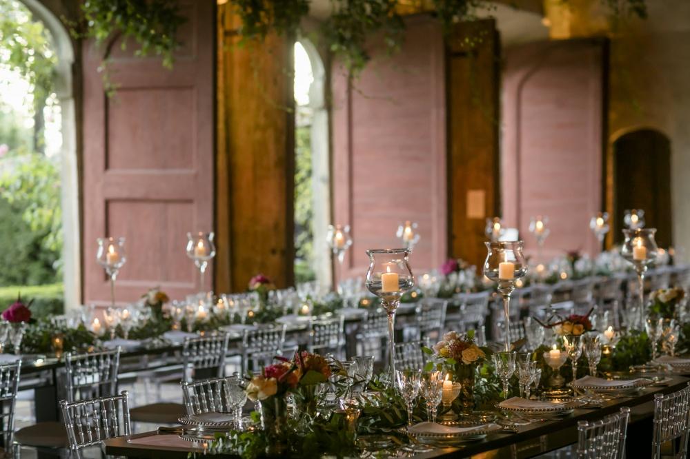 luxury wedding villa with orangerie in lucca
