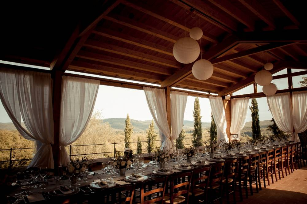 restaurants for wedding in tuscany