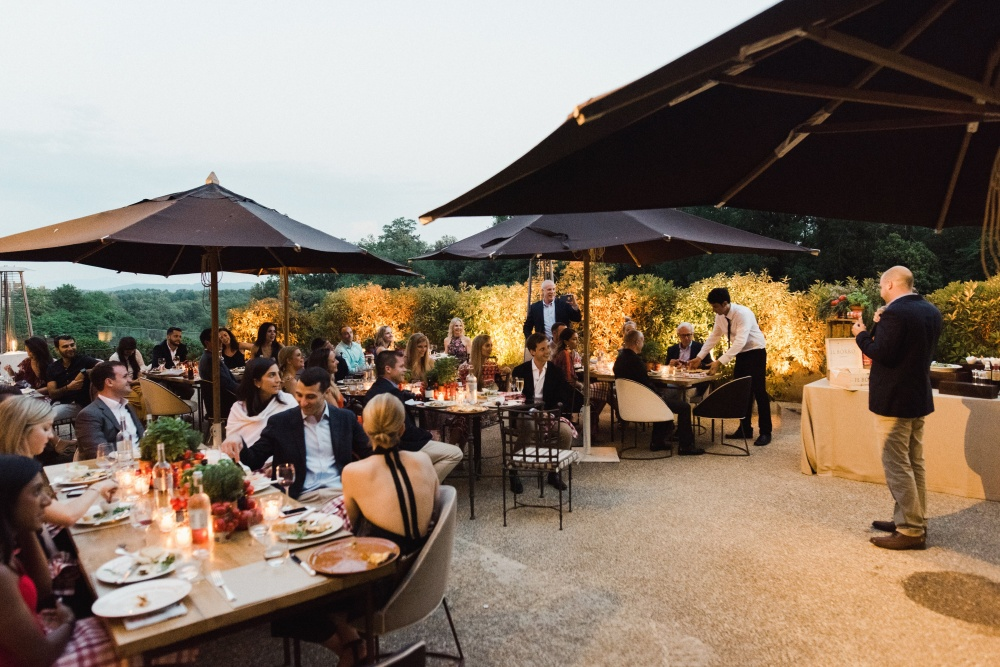 restaurant for wedding welcome dinner in tuscany