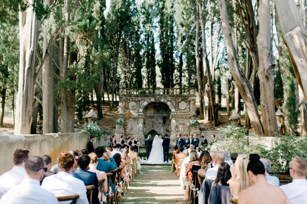 symbolic wedding in florence hills