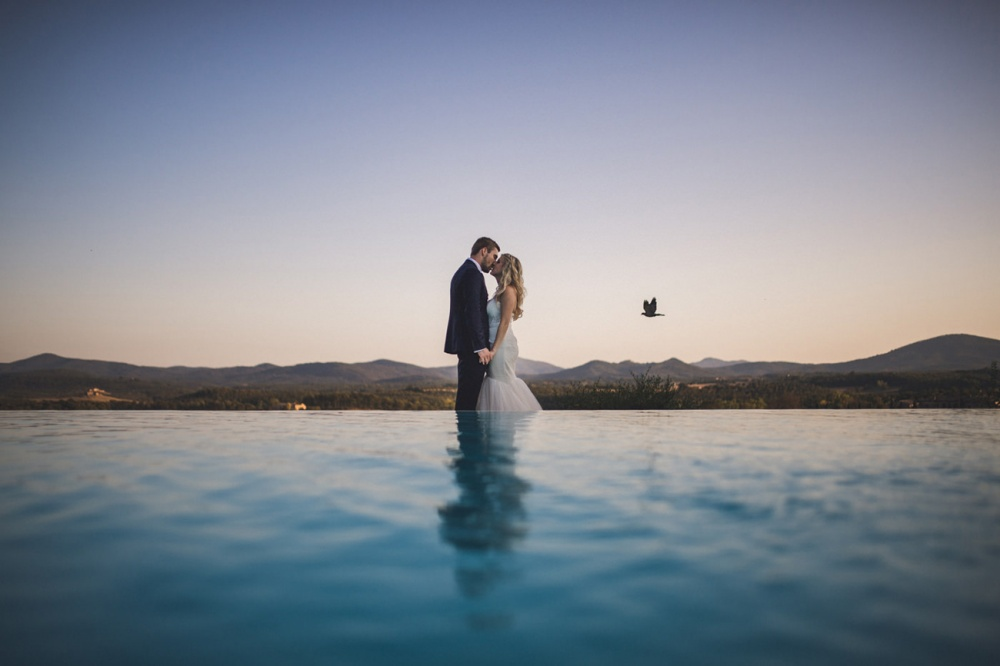 real wedding in a wedding in tuscany