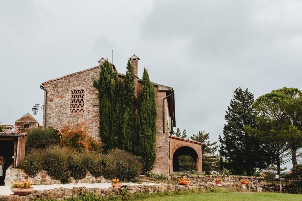 tiny wedding hamlet with stone buildings