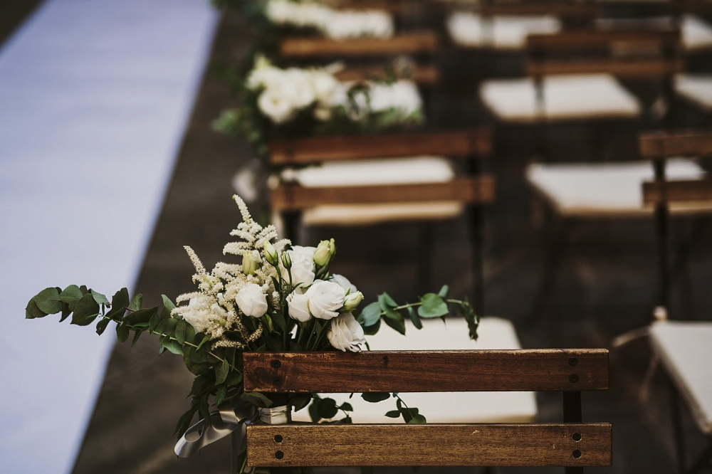 tuscany vibes country wedding chair decoration
