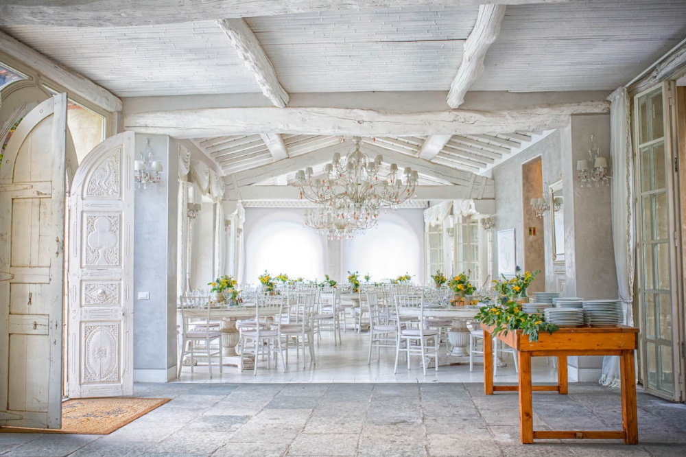 tuscany wedding dinner hamlet