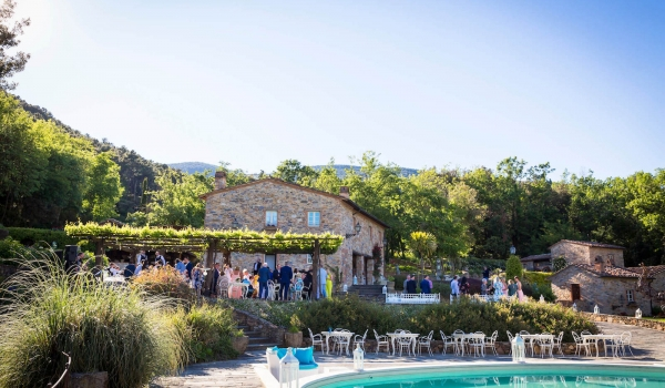 tuscany wedding pool hamlet