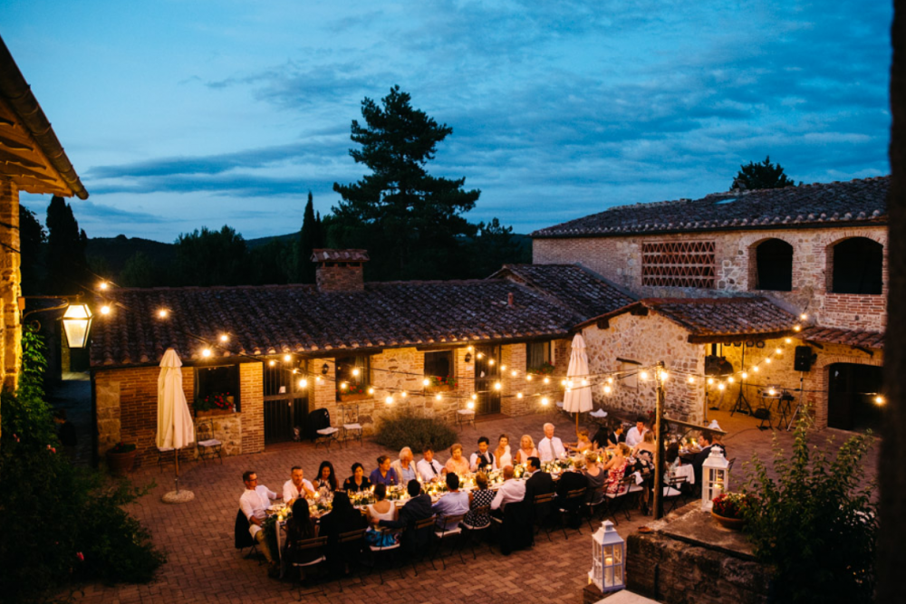 venues for wedding dinner in italy