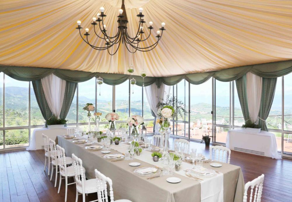 villa medicea in tuscany with restaurant