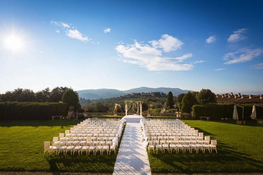 villa medicea in tuscany for wedding