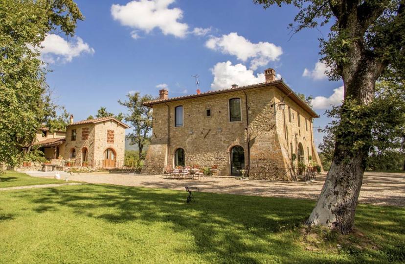property view of a wedding villa
