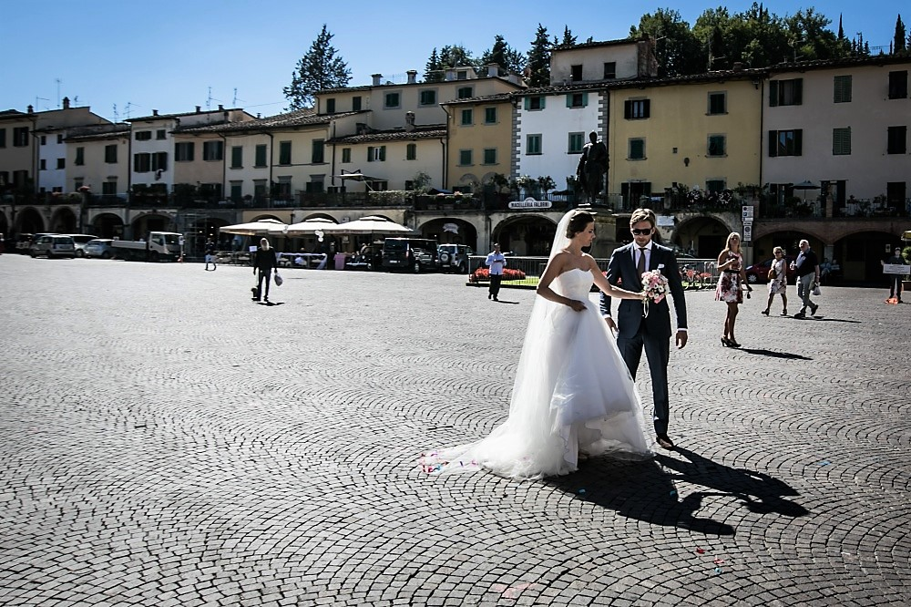 wedding ceremony in greve in chianti tuscany