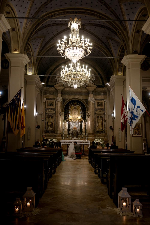 wedding church for ceremony in montalcino