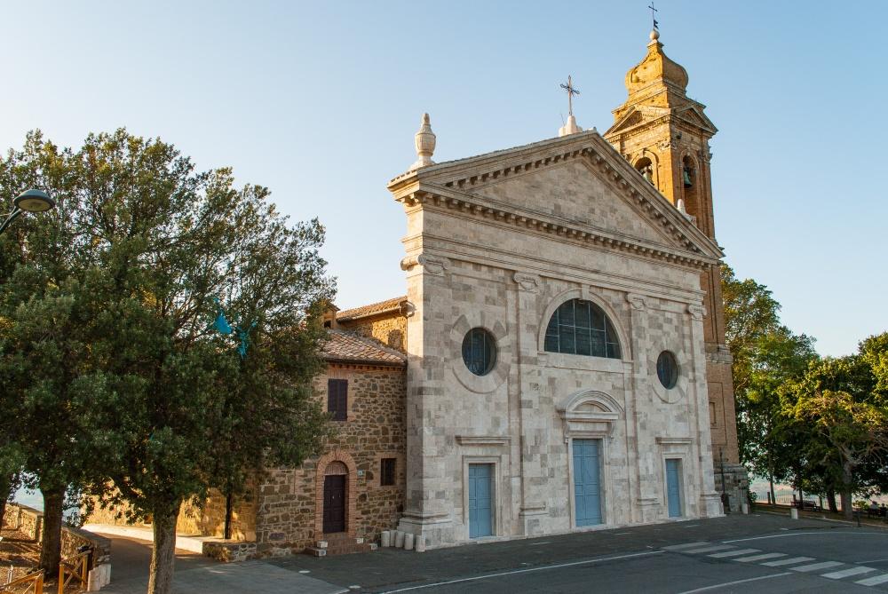 wedding catholic ceremony in montalcino