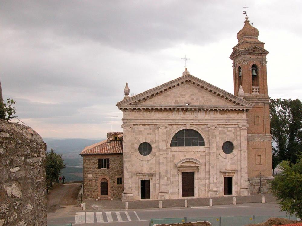 church for wedding catholic ceremony in montalcino