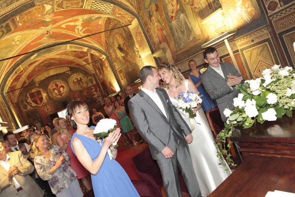 wedding civil ceremony in san miniato