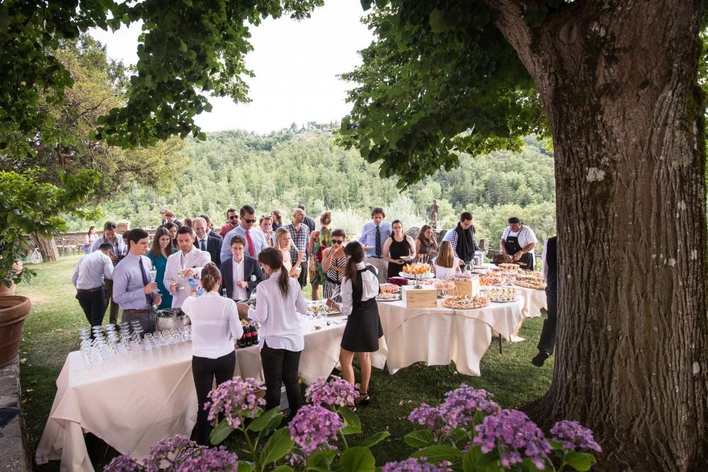 wedding farmhouse for receptions in siena