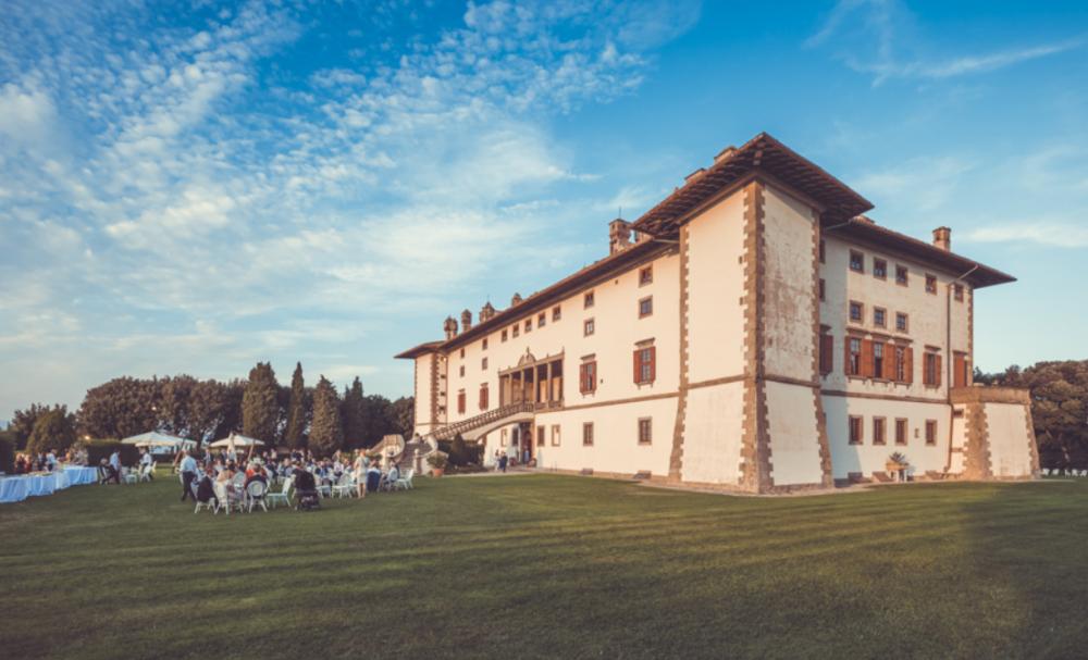 wedding locations villa medicea in tuscany