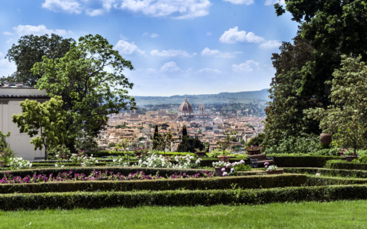 wedding venues with florence view