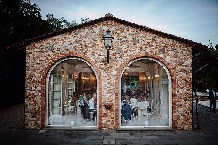 wedding villa with orangerie in pisa