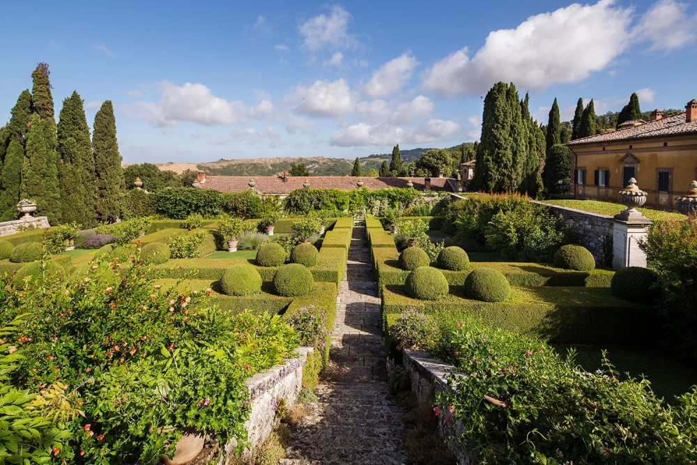 wedding villa in tuscany with view