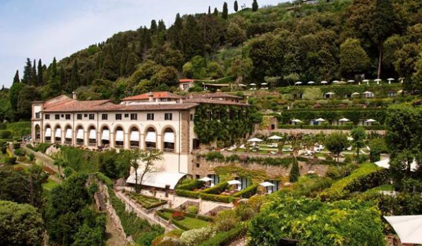 front villa for wedding with florence view